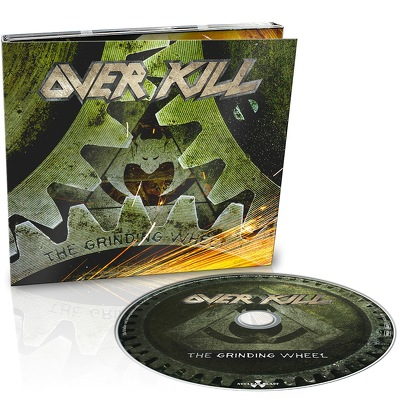 CD Shop - OVERKILL THE GRINDING WHEEL LTD.