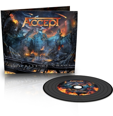 CD Shop - ACCEPT THE RISE OF CHAOS LTD.