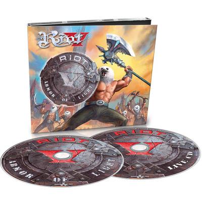CD Shop - RIOT V ARMOR OF LIGHT