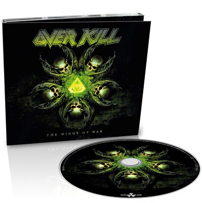 CD Shop - OVERKILL THE WINGS OF WAR