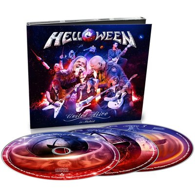CD Shop - HELLOWEEN UNITED ALIVE IN MADRID