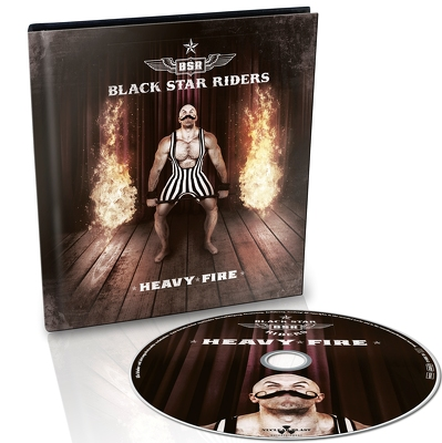 CD Shop - BLACK STAR RIDERS HEAVY FIRE LTD.