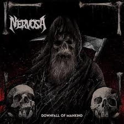 CD Shop - NERVOSA DOWNFALL OF MANKIND
