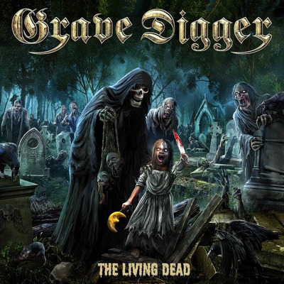 CD Shop - GRAVE DIGGER THE LIVING DEAD