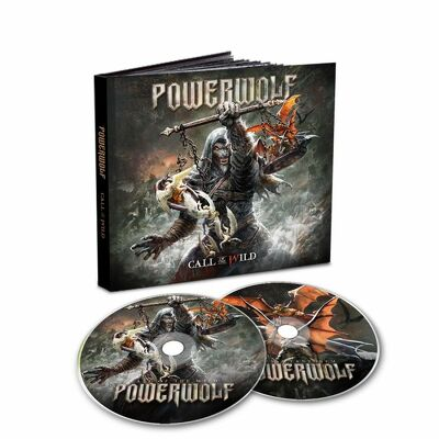 CD Shop - POWERWOLF CALL OF THE WILD (MEDIABOOK) LTD.