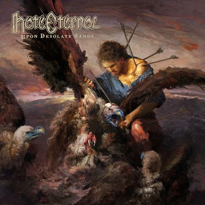 CD Shop - HATE ETERNAL UPON DESOLATE SANDS