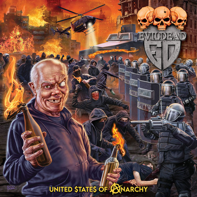 CD Shop - EVILDEAD UNITED STATES OF ANARCHY