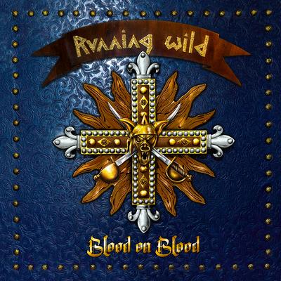 CD Shop - RUNNING WILD BLOOD ON BLOOD