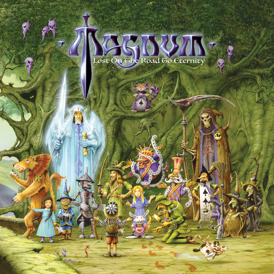 CD Shop - MAGNUM LOST ON THE ROAD TO ETERNITY