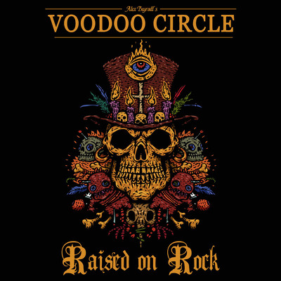 CD Shop - VOODOO CIRCLE RAISED ON ROCK