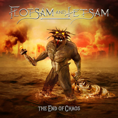 CD Shop - FLOTSAM & JETSAM THE END OF CHAOS