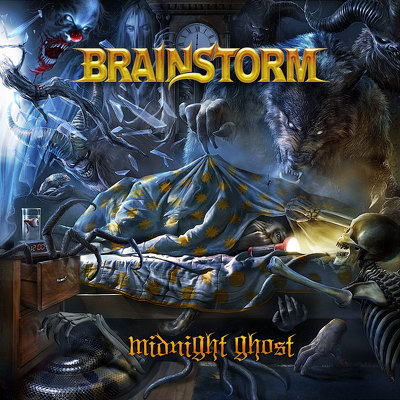 CD Shop - BRAINSTORM MIDNIGHT GHOST