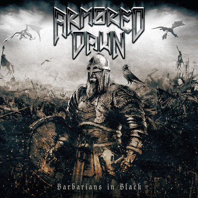 CD Shop - ARMORED DAWN BARBARIANS IN BLACK