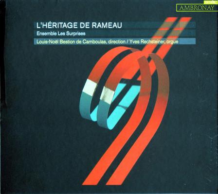 CD Shop - L HERITAGE DE RAMEAU ENSEMBLE LES SURP