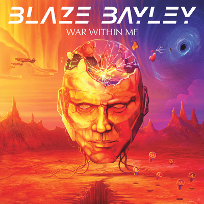 CD Shop - BLAZE BAYLEY WAR WITHIN ME