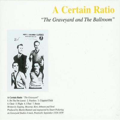 CD Shop - A CERTAIN RATIO THE GRAVEYARD AND THE