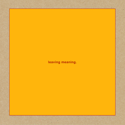 CD Shop - SWANS LEAVING MEANING
