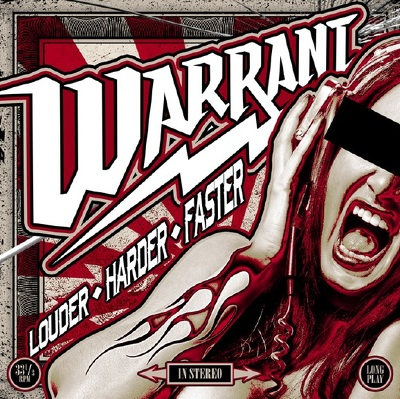 CD Shop - WARRANT LOUDER HARDER FASTER