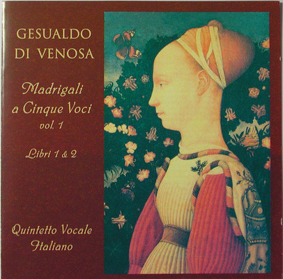 CD Shop - CARLO GESUALDO MADRIGALI, BOOKS 1&2
