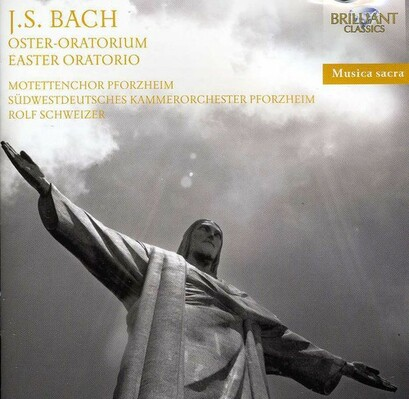 CD Shop - BACH OSTER-ORATORIUM & HIMMELFAHRTS-OR