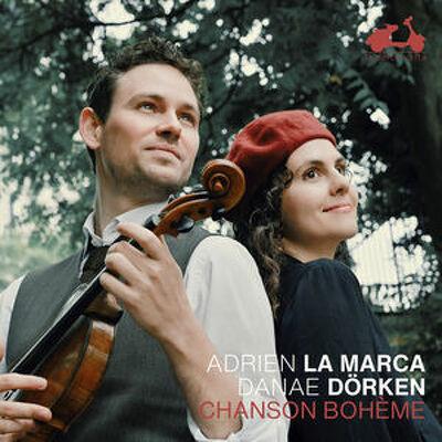 CD Shop - ADRIEN LA MARCA CHANSON BOHEME