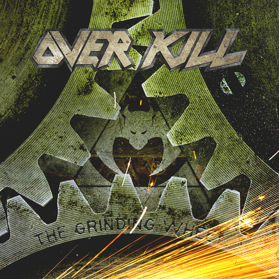 CD Shop - OVERKILL THE GRINDING WHEEL