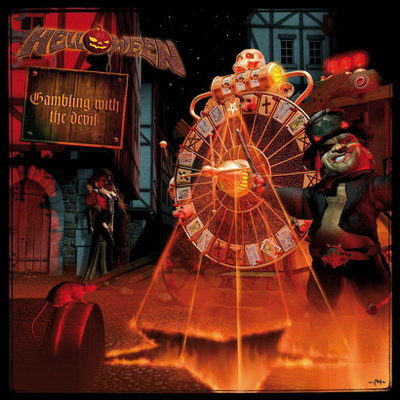 CD Shop - HELLOWEEN GAMBLING WITH THE DEVIL