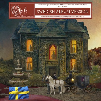 CD Shop - OPETH IN CAUDA VENENUM (SWEDISH)