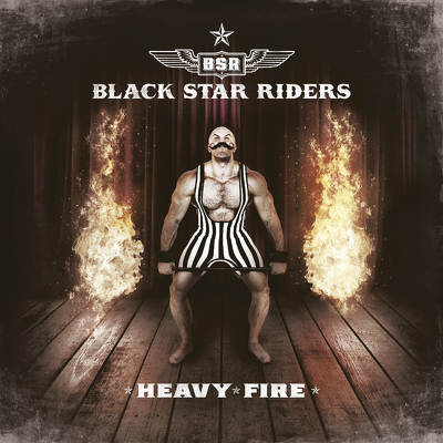 CD Shop - BLACK STAR RIDERS HEAVY FIRE