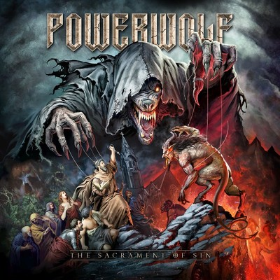 CD Shop - POWERWOLF THE SACRAMENT OF SIN