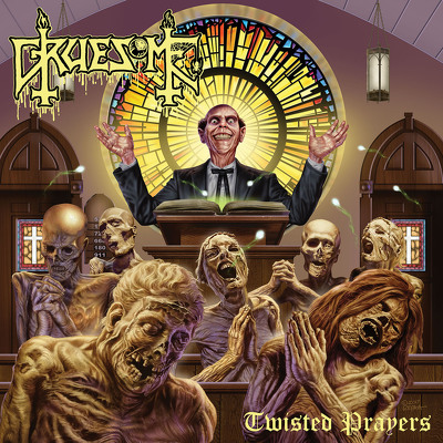 CD Shop - GRUESOME TWISTED PRAYERS