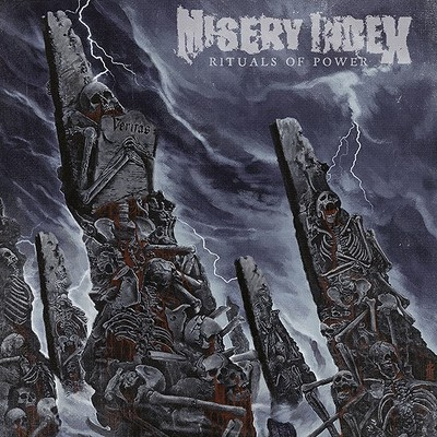 CD Shop - MISERY INDEX RITUALS OF POWER