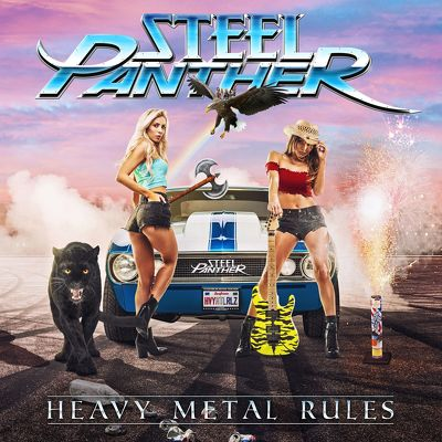 CD Shop - STEEL PANTHER HEAVY METAL RULES