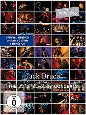 CD Shop - BRUCE, JACK THE 50TH BIRTHDAY CONCERTS