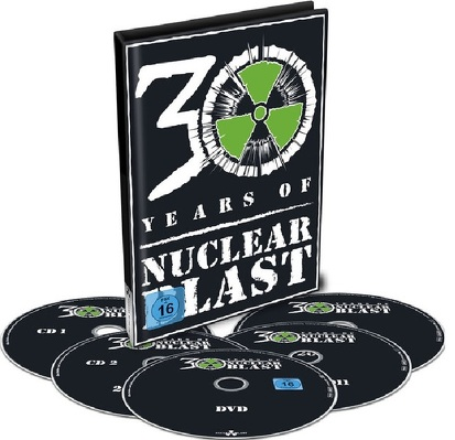 CD Shop - 30 YEARS OF NUCLEAR BLAST DVD+4CD COMP