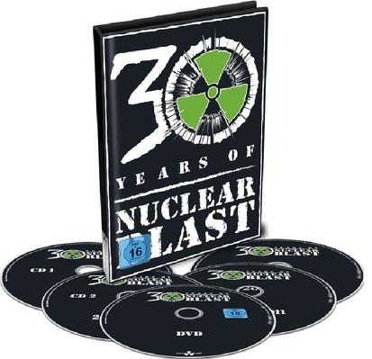 CD Shop - 30 YEARS OF NUCLEAR BLAST DVD+4CD COMP