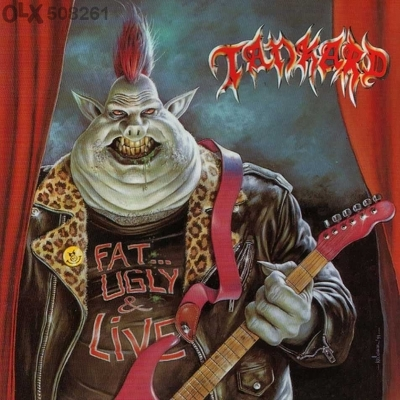 CD Shop - TANKARD FAT UGLY AND STEEL