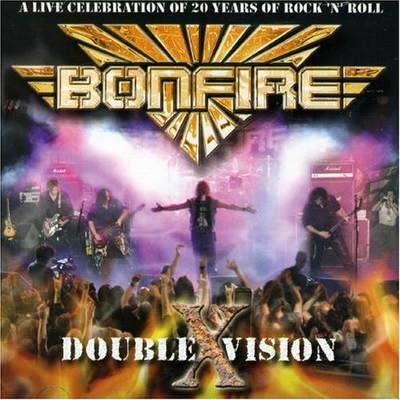CD Shop - BONFIRE DOUBLE X VISION