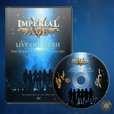 CD Shop - IMPERIAL AGE LIVE ON EARTH