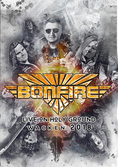 CD Shop - BONFIRE LIVE IN HOLY GROUND