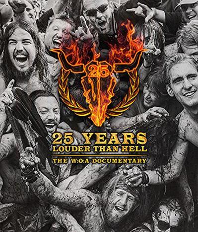 CD Shop - V/A 25 YEARS LOUDER THAN HELL/THE W:O: