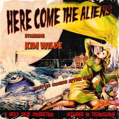 CD Shop - KIM WILDE HERE COME THE ALIENS LTD.