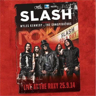 CD Shop - SLASH LIVE AT THE ROXY