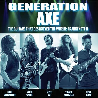CD Shop - GENERATION AXE THE GUITARS THAT DESTRO