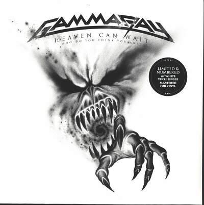CD Shop - GAMMA RAY HEAVEN CAN WAIT WHO DO YOU T