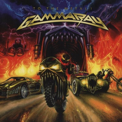 CD Shop - GAMMA RAY TO THE METAL ORANGE LTD.