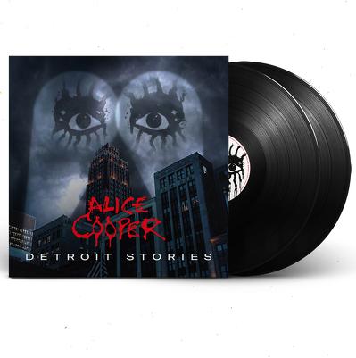 CD Shop - ALICE COOPER DETROIT STORIES BLACK LTD