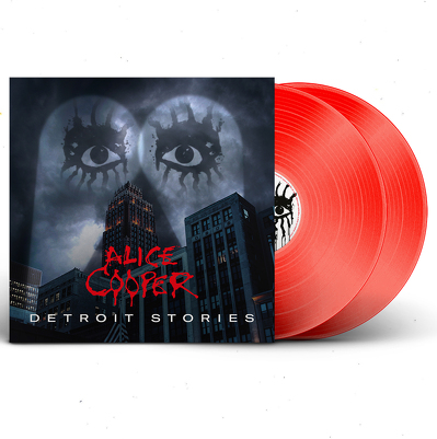 CD Shop - ALICE COOPER DETROIT STORIES RED LTD.