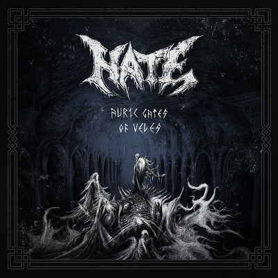 CD Shop - HATE AURIC GATES OF VELES BLACK LTD.
