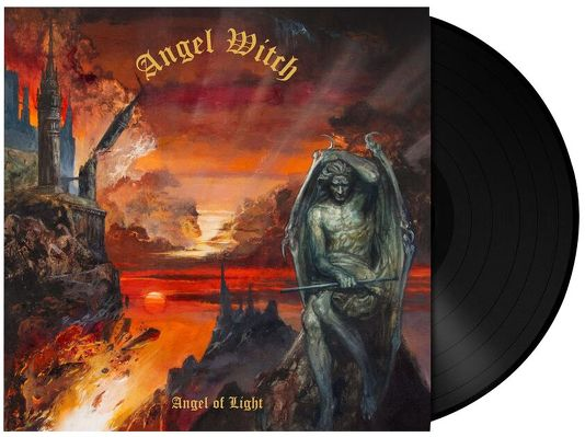 CD Shop - ANGEL WITCH ANGEL OF LIGHT BLACK LTD.